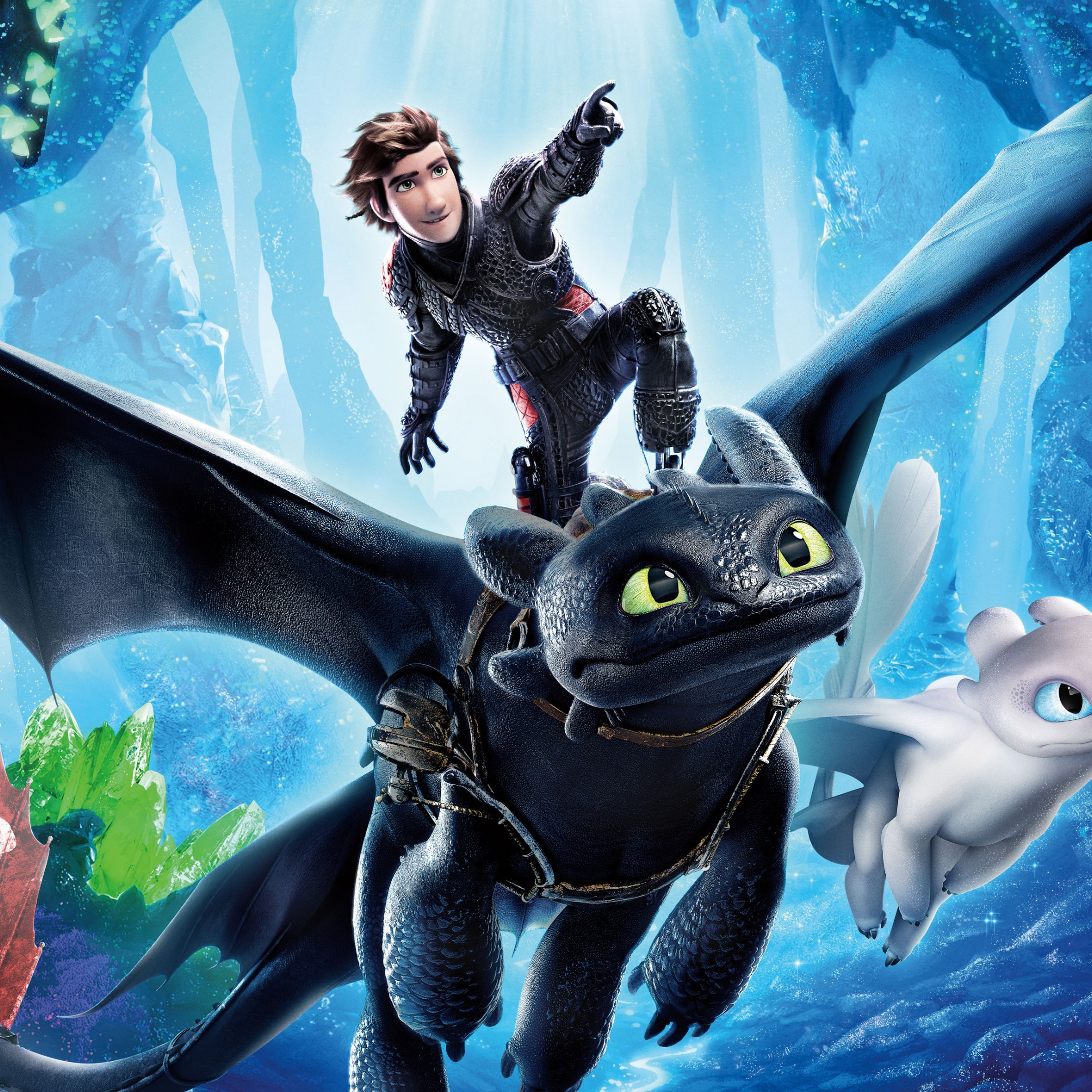 How to Train Your Dragon 2019 wallpaper 2224x2224
