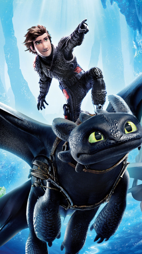 How to Train Your Dragon 2019 | 480x854 wallpaper