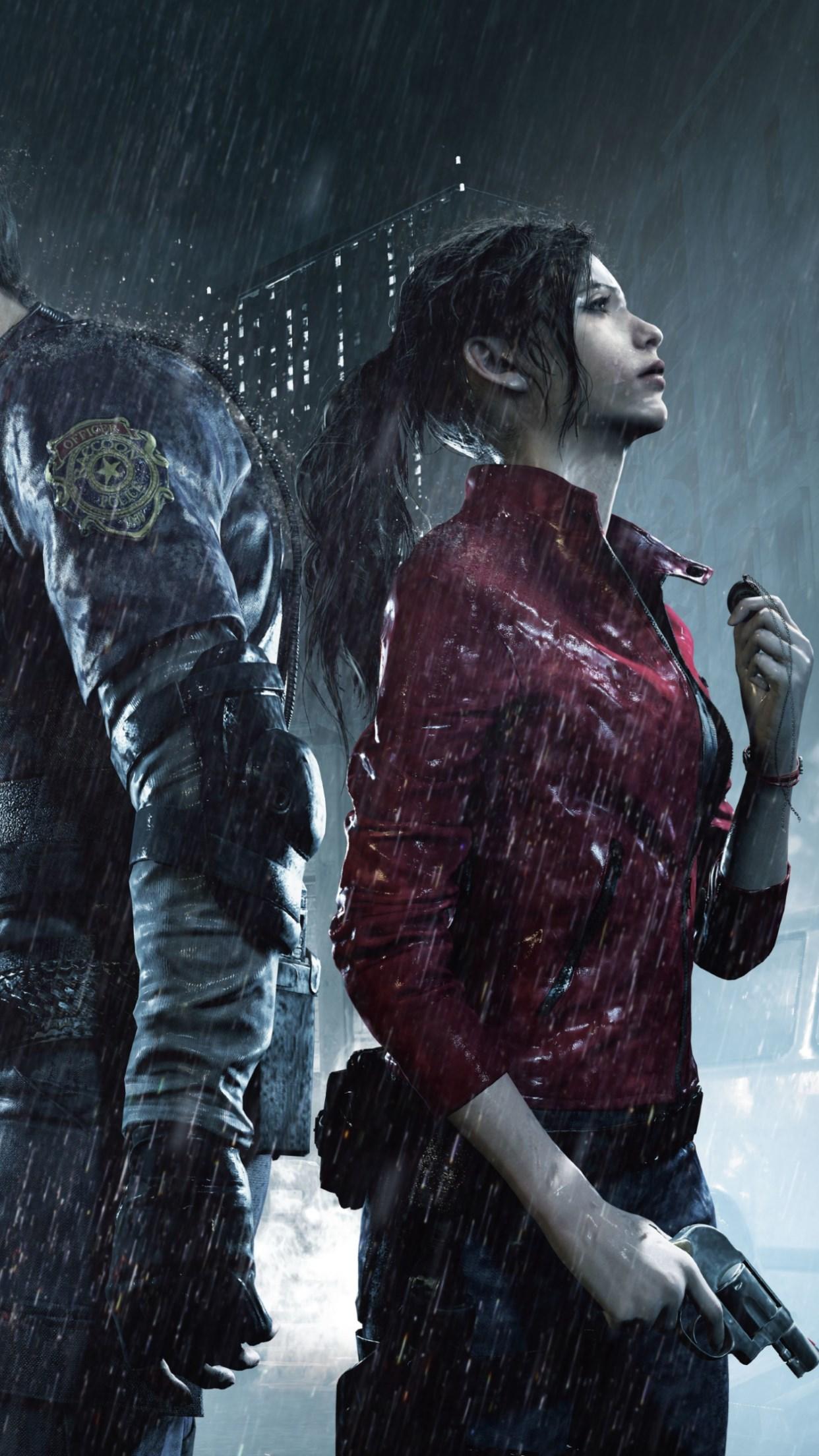 Download Wallpaper Resident Evil 2 1242x2208