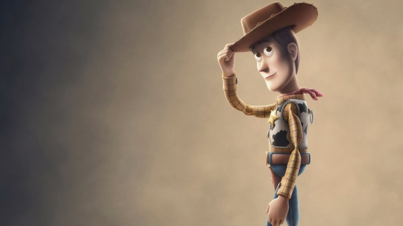 Toy Story 4 wallpaper 1366x768