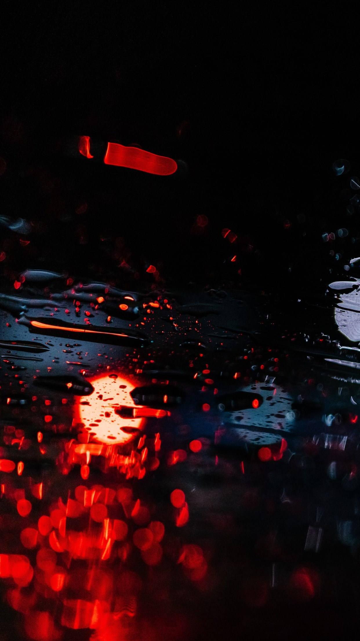 Rainy nights wallpaper 1242x2208