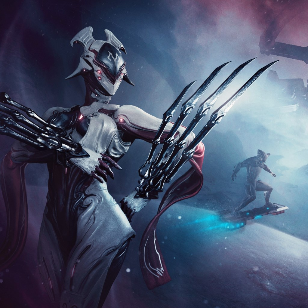 Fortuna expensasion for Warframe game wallpaper 1024x1024