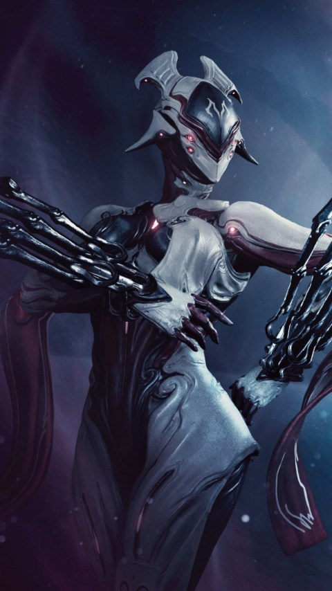Fortuna expensasion for Warframe game wallpaper 480x854