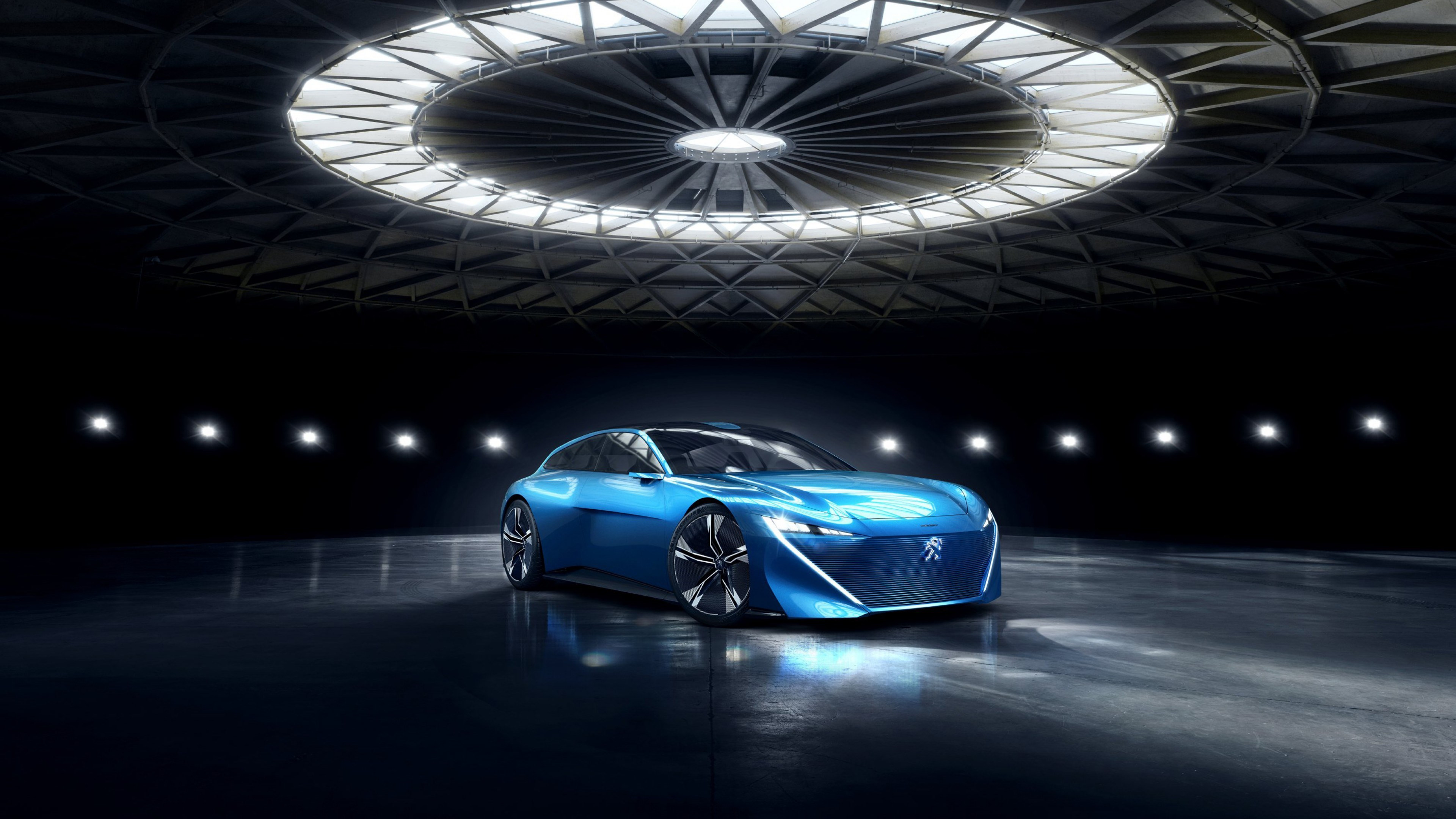 Peugeot Instinct | 3840x2160 wallpaper