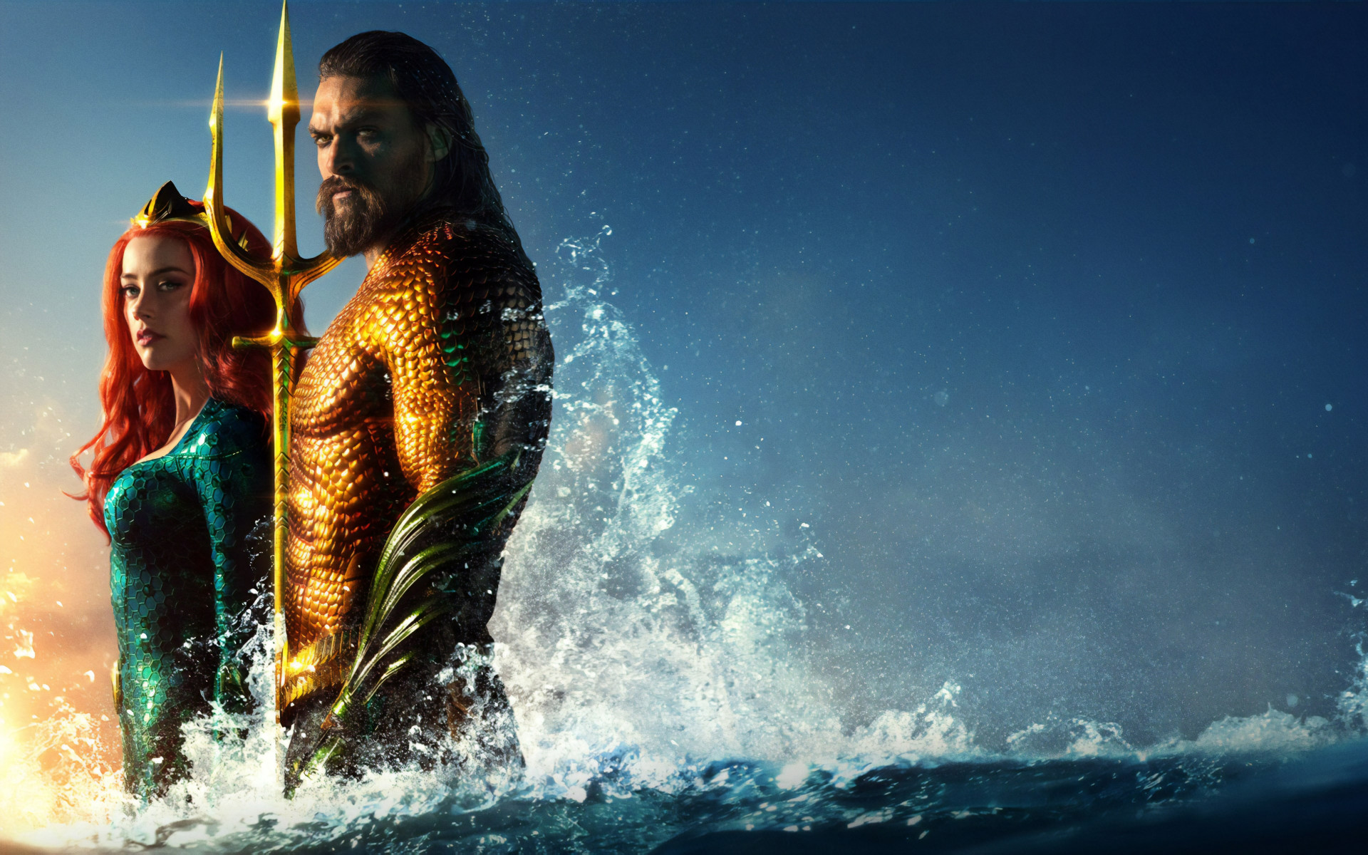 Aquaman new poster wallpaper 1920x1200