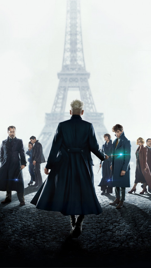 Fantastic Beasts: The Crimes of Grindelwald | 480x854 wallpaper