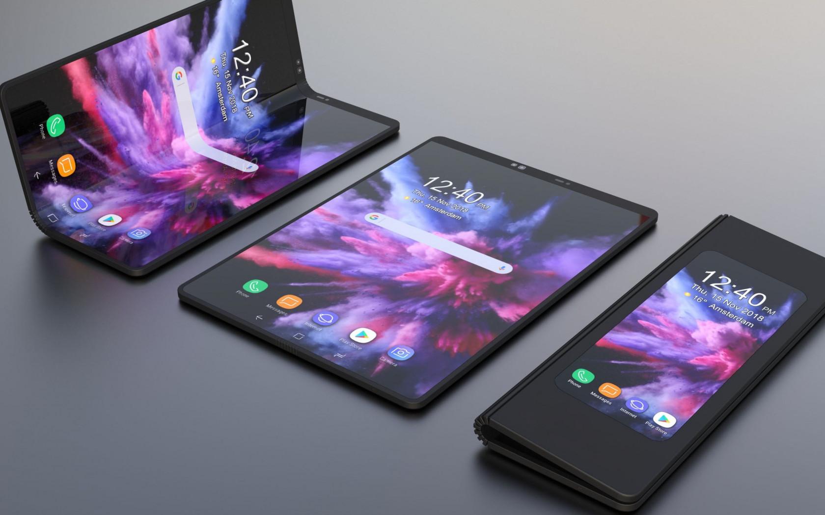 Download Wallpaper Samsung Galaxy F 1680x1050