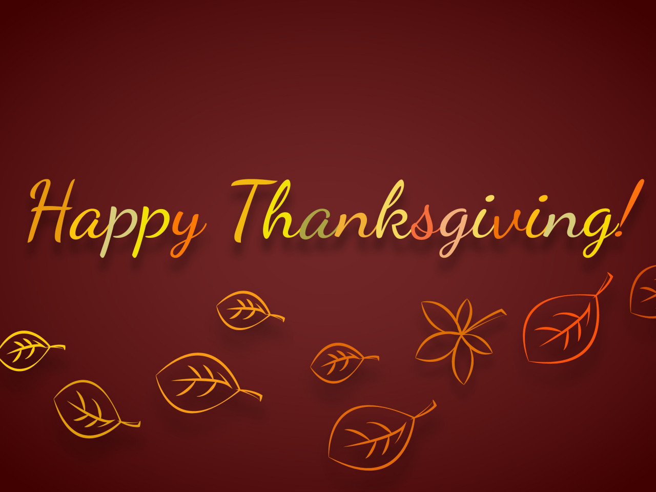 Happy Thanksgiving wallpaper 1280x960