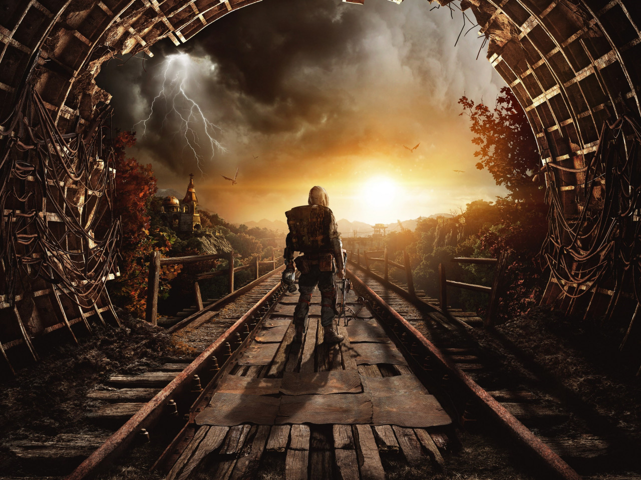 Metro Exodus wallpaper 1280x960