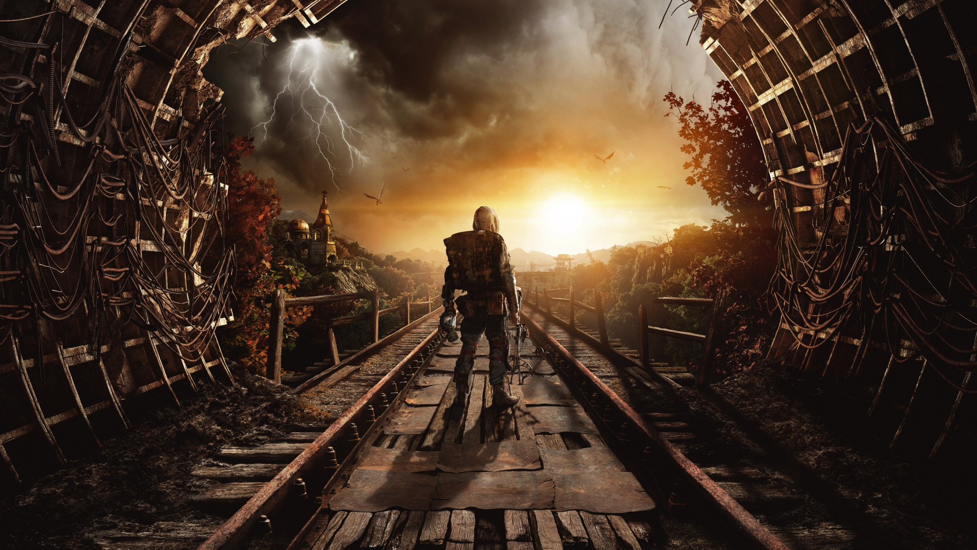 Download Wallpaper Metro Exodus 1920x1080