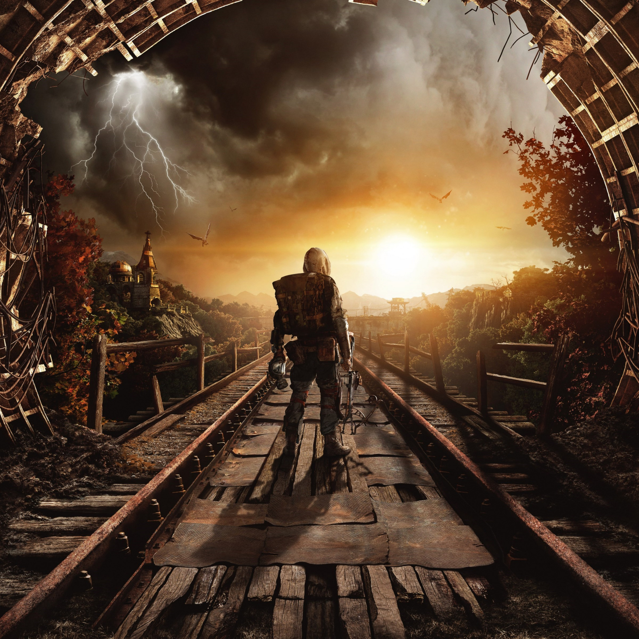 Metro Exodus wallpaper 2224x2224