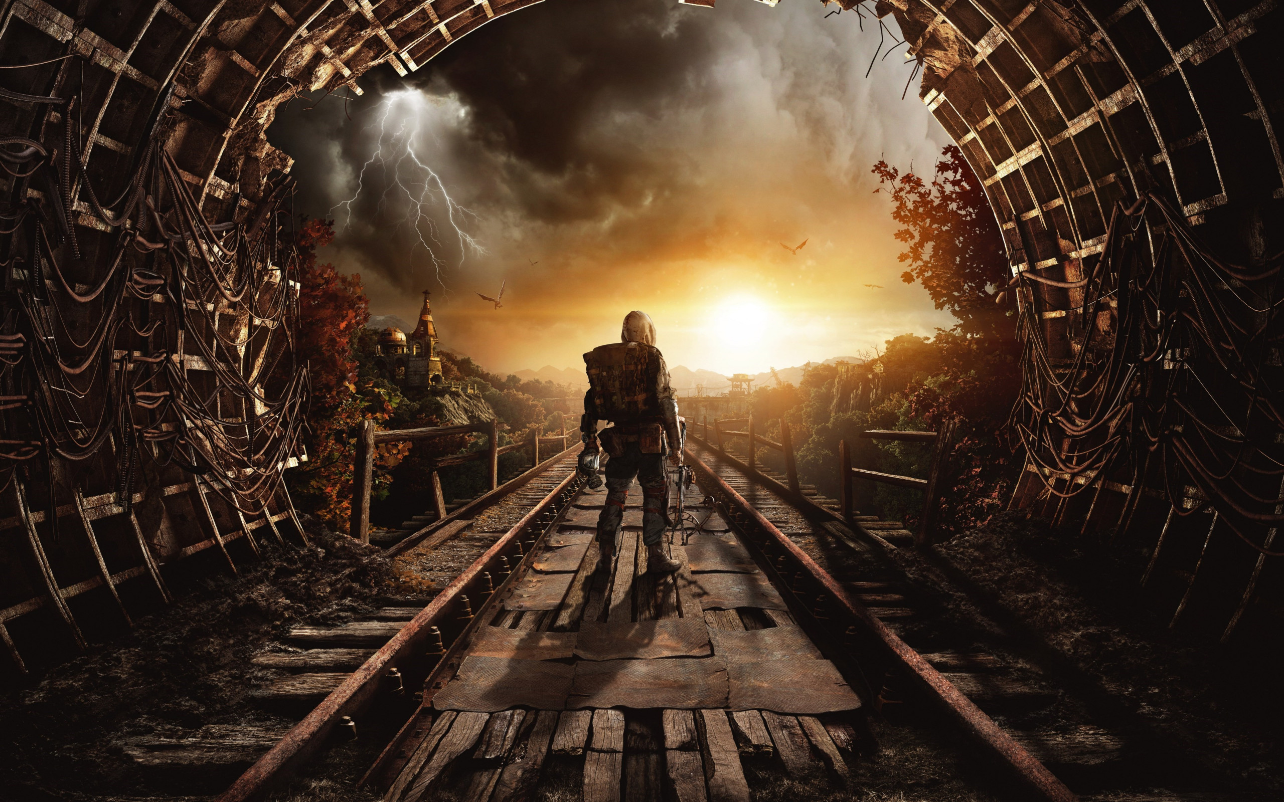 Metro Exodus wallpaper 2560x1600