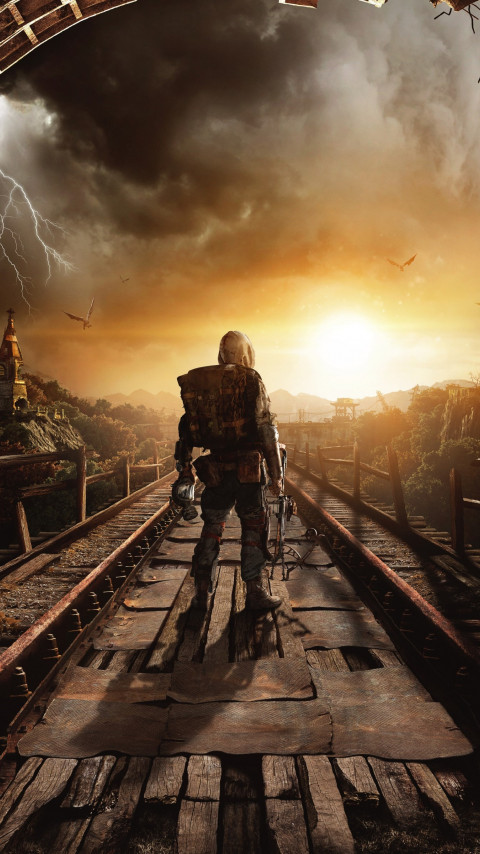 Metro Exodus wallpaper 480x854