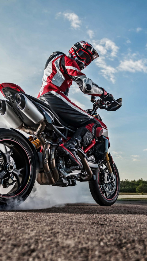 Ducati Hypermotard 950 wallpaper 480x854