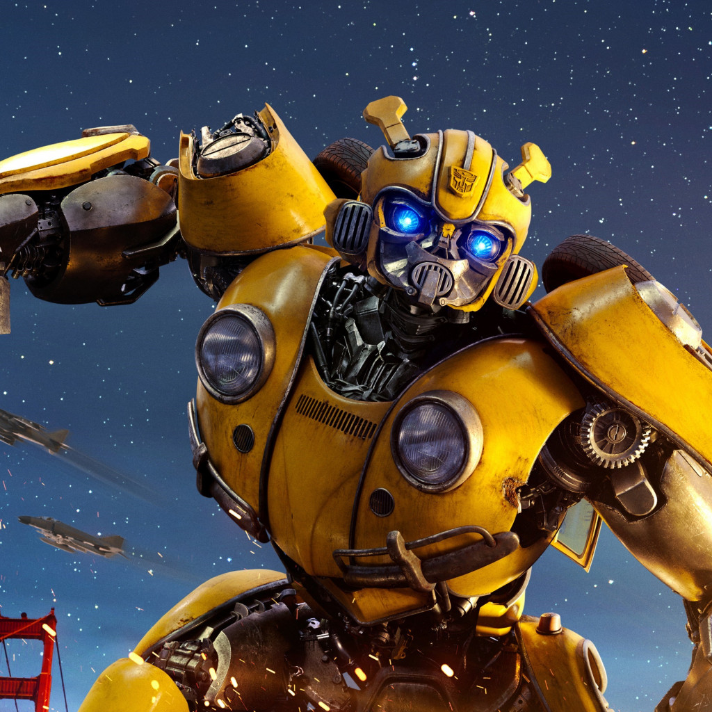 Bumblebee Transformers wallpaper 1024x1024