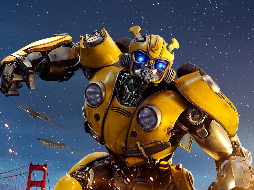 Bumblebee Transformers wallpaper 1024x768