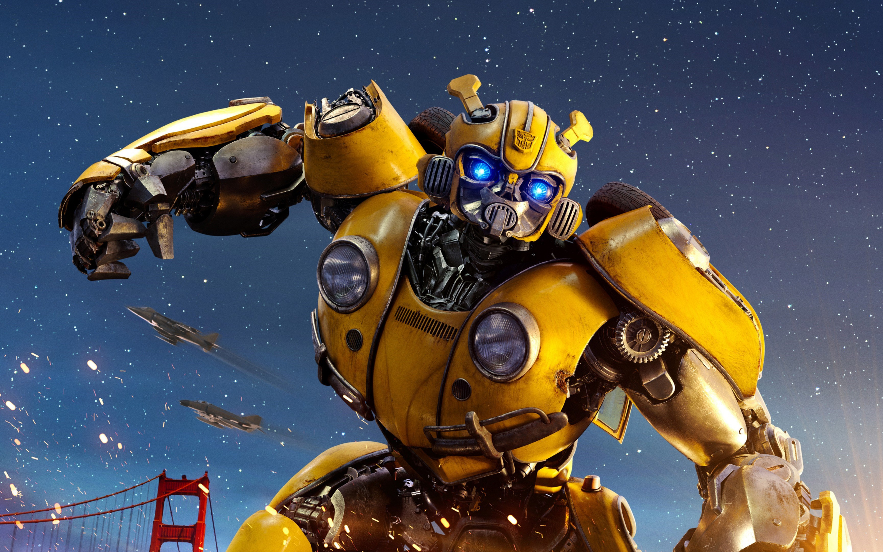 Bumblebee Transformers wallpaper 2880x1800