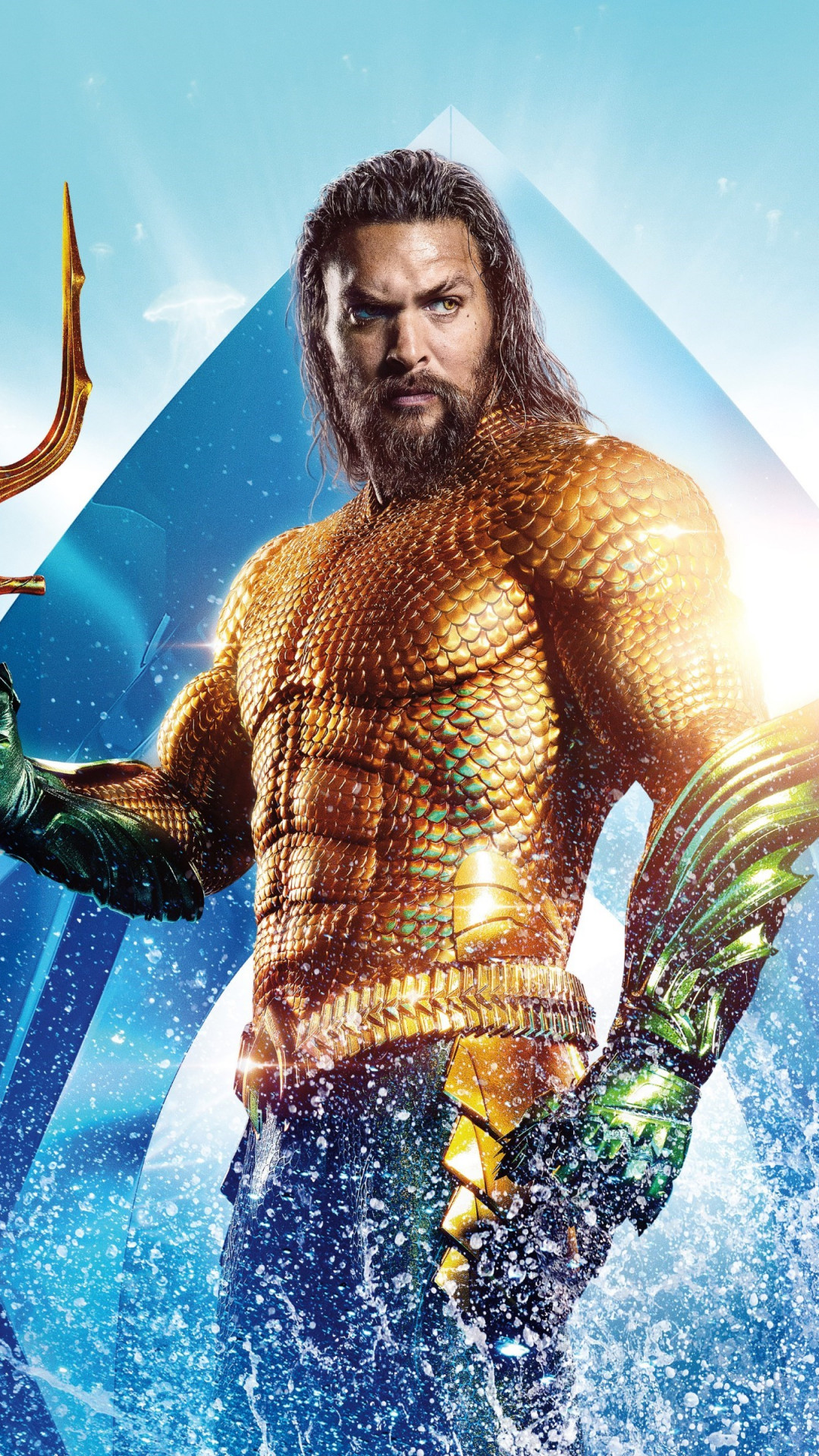 Aquaman Hero wallpaper 1080x1920