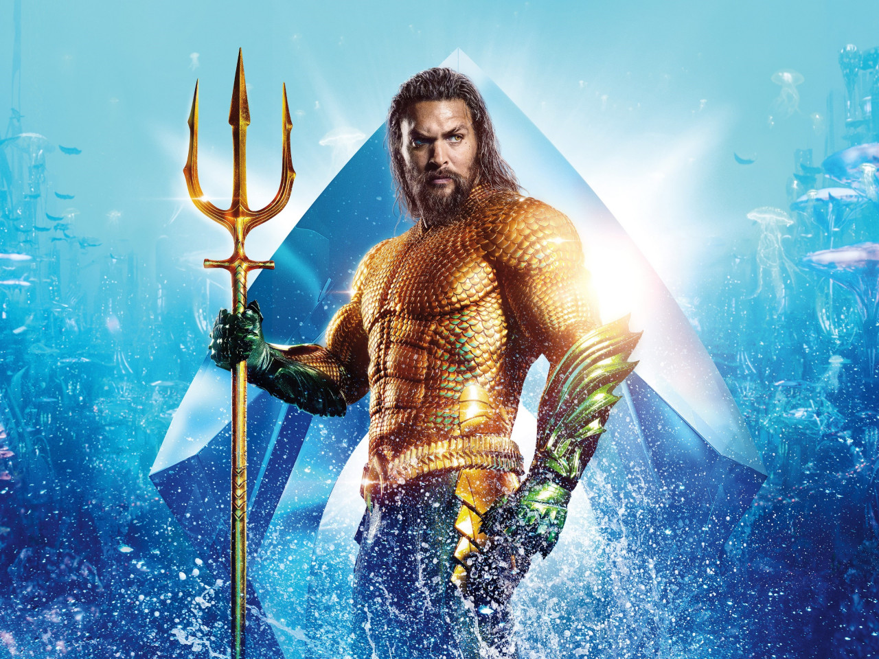 Aquaman Hero wallpaper 1280x960