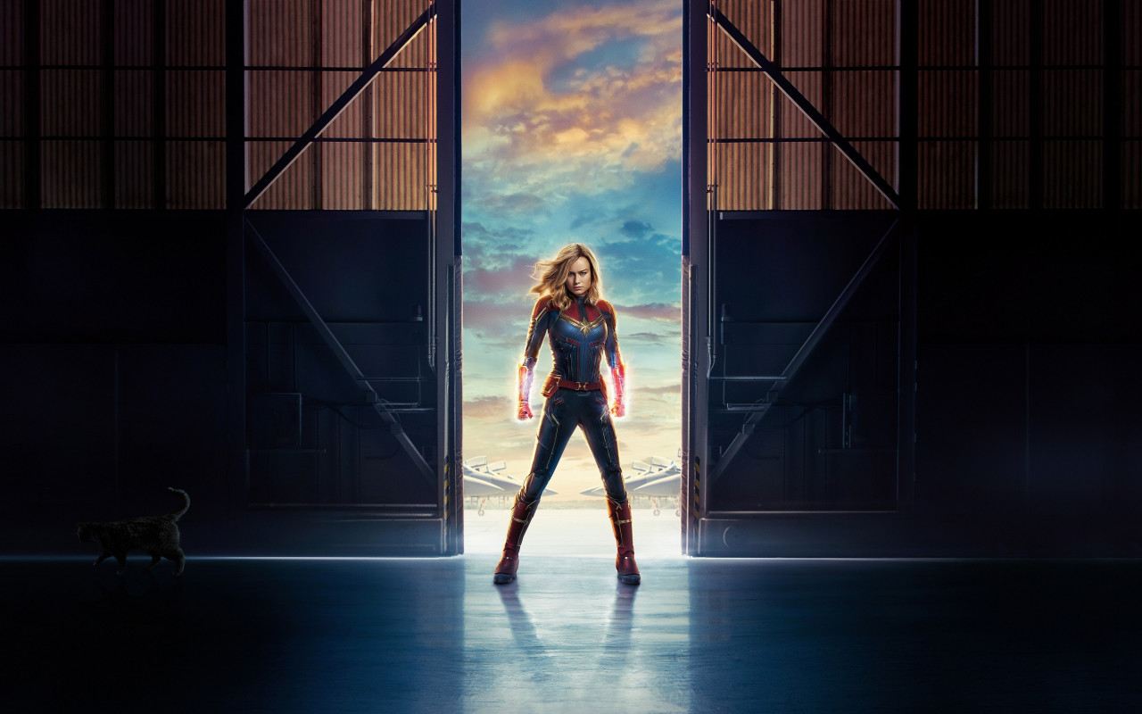 Captain Marvel | 1280x800 wallpaper