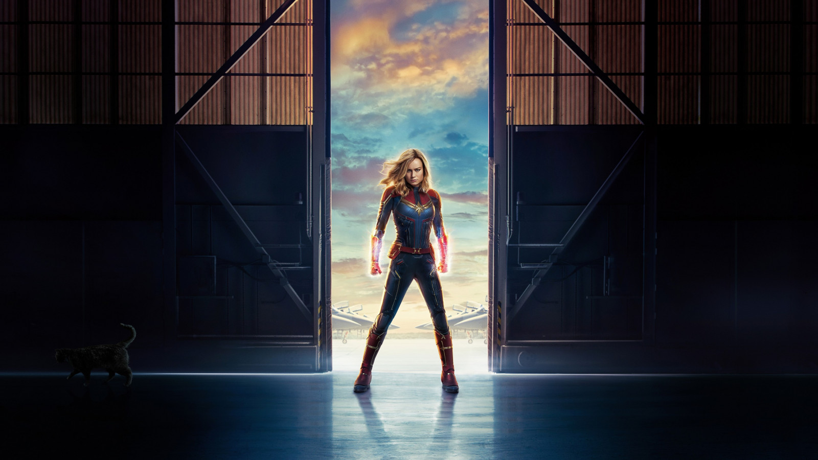 Captain Marvel | 1600x900 wallpaper