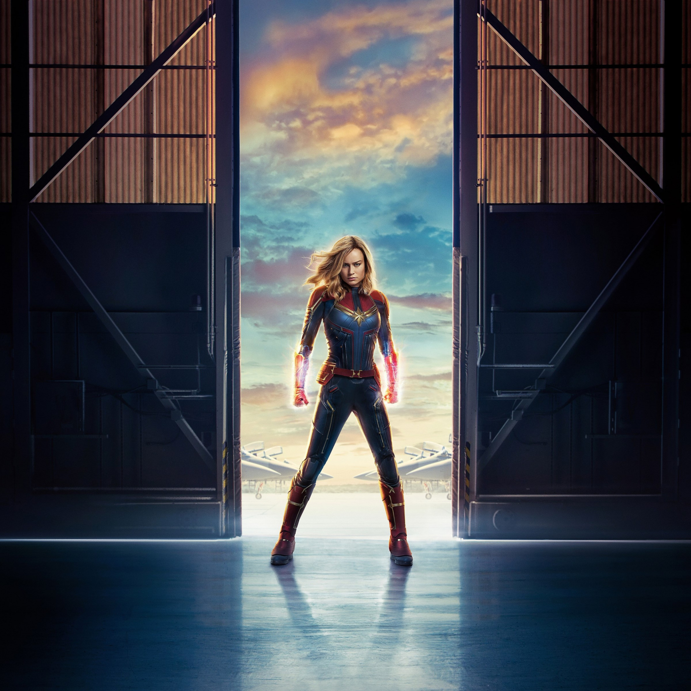 Captain Marvel wallpaper 2224x2224