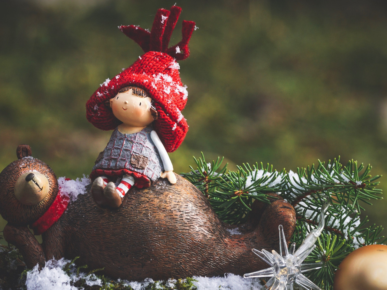 Cute Christmas decoration | 1280x960 wallpaper