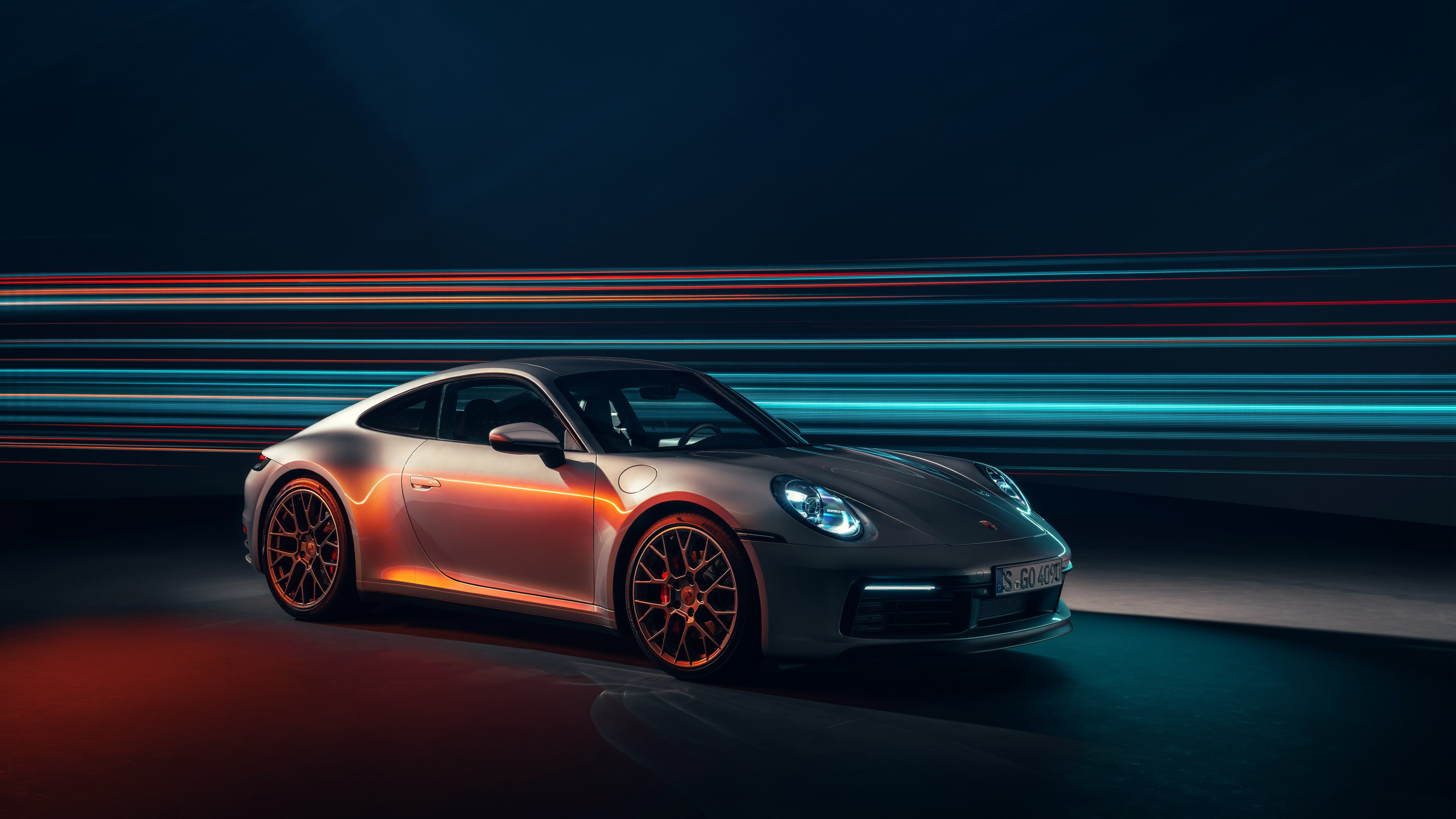 Porsche 911 Carrera 4S | 3840x2160 wallpaper