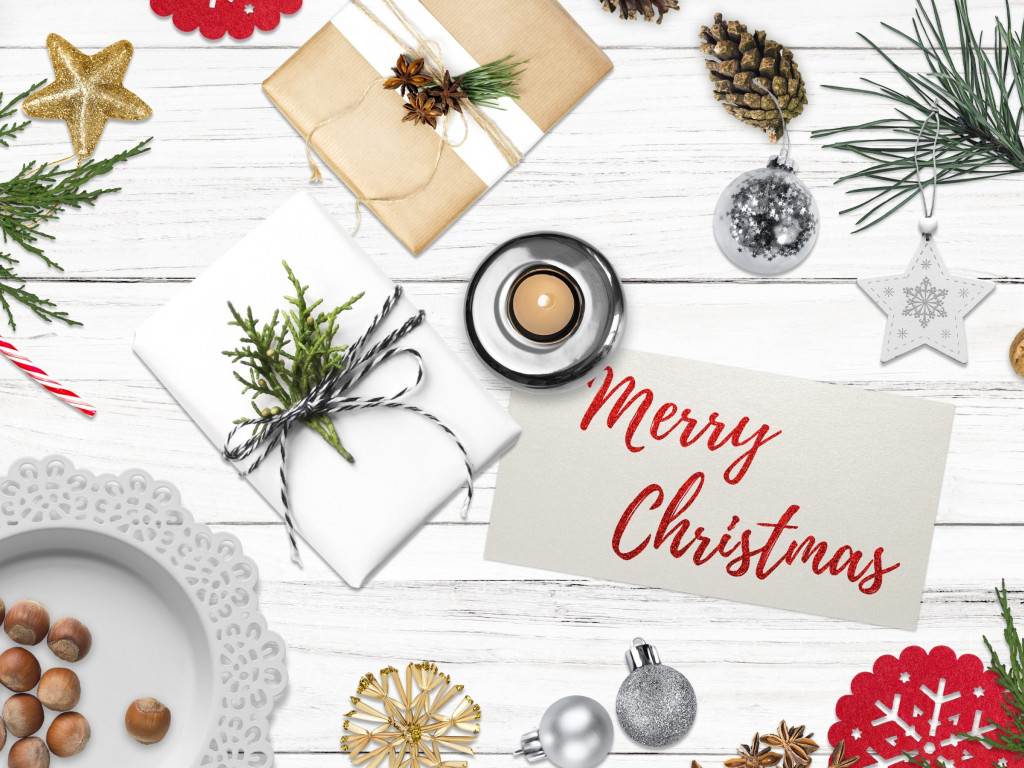 Merry Christmas 2019 wallpaper 1024x768