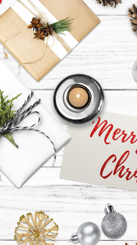 Merry Christmas 2019 | 480x854 wallpaper