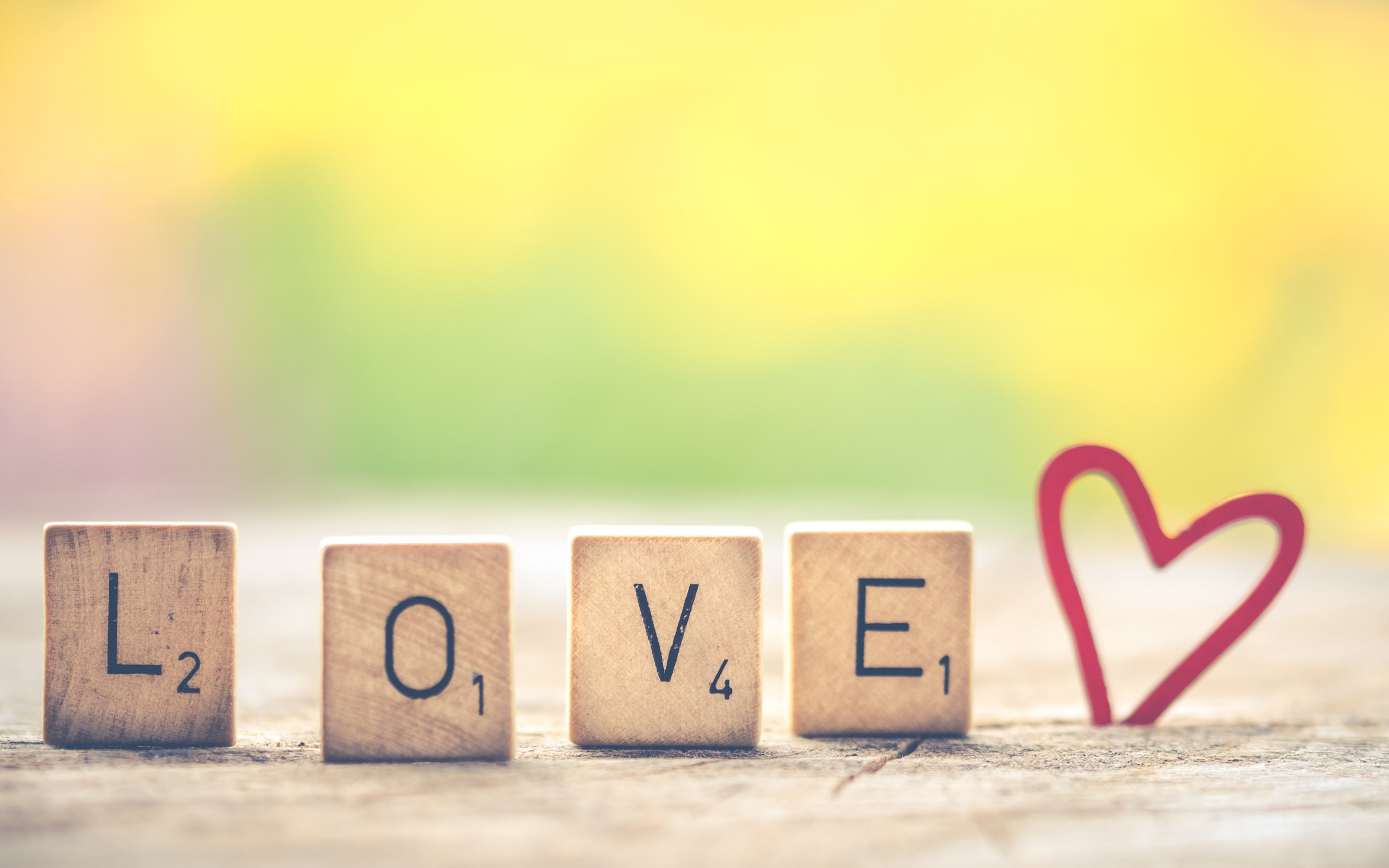 Love letters. Message for Valentine s day | 2560x1600 wallpaper
