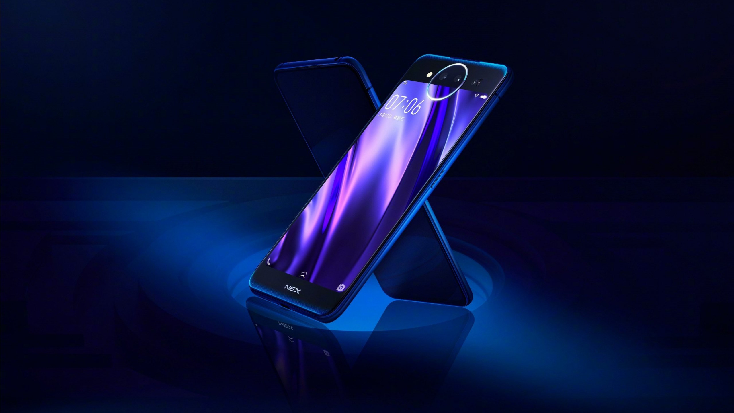 Download Wallpaper Vivo Nex Dual Display Edition 2560x1440