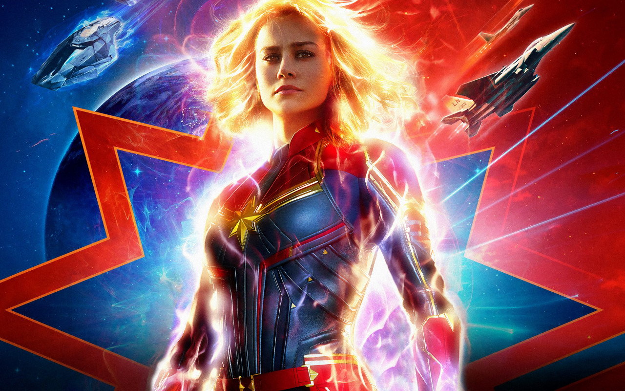 Captain Marvel 2019 wallpaper 1280x800