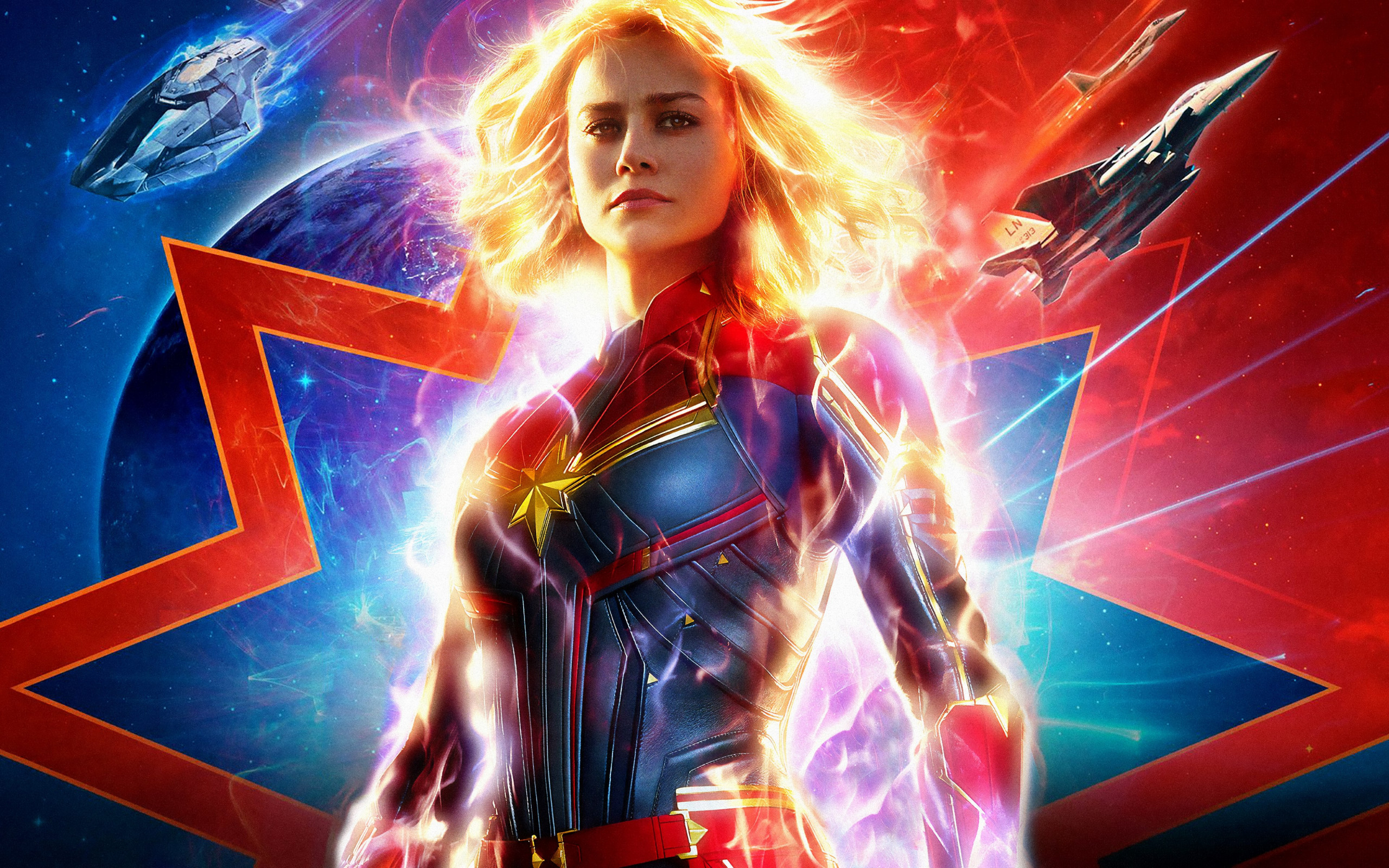 Captain Marvel 2019 wallpaper 2560x1600