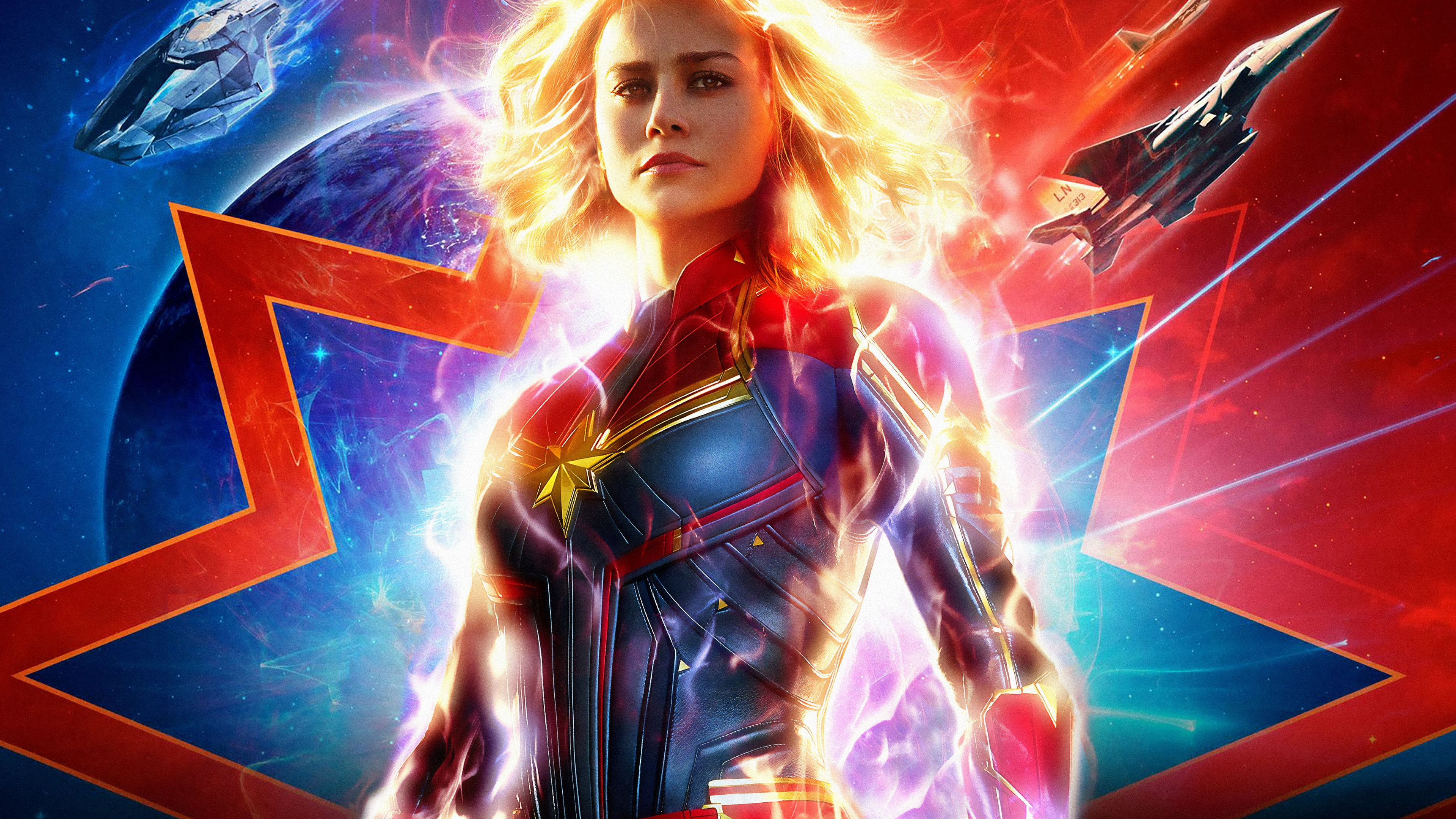 Captain Marvel 2019 wallpaper 3840x2160