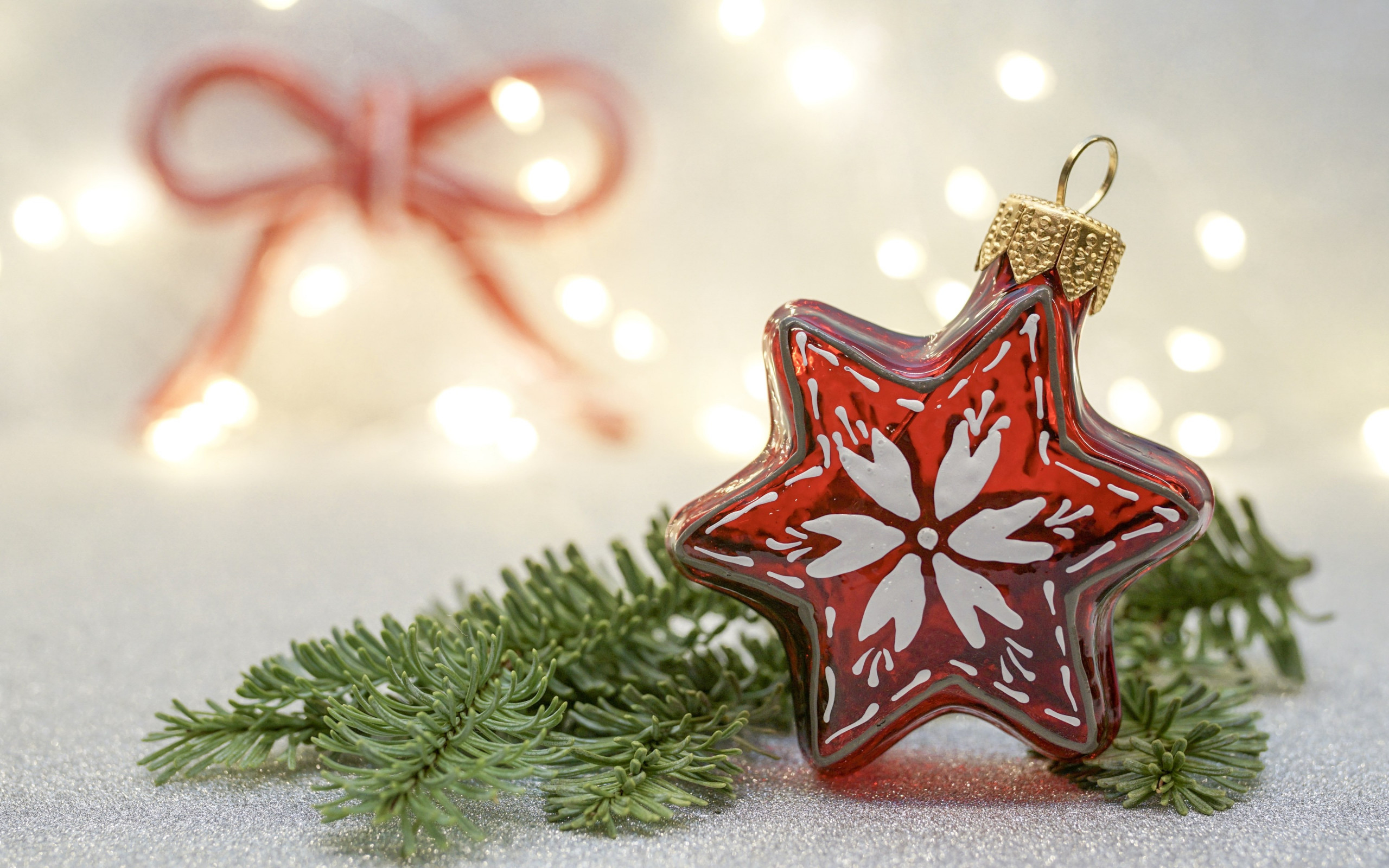 Christmas decorations wallpaper 2560x1600