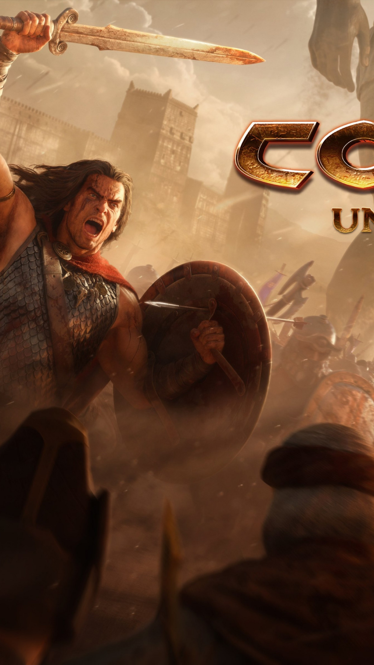Conan Unconquered wallpaper 1242x2208