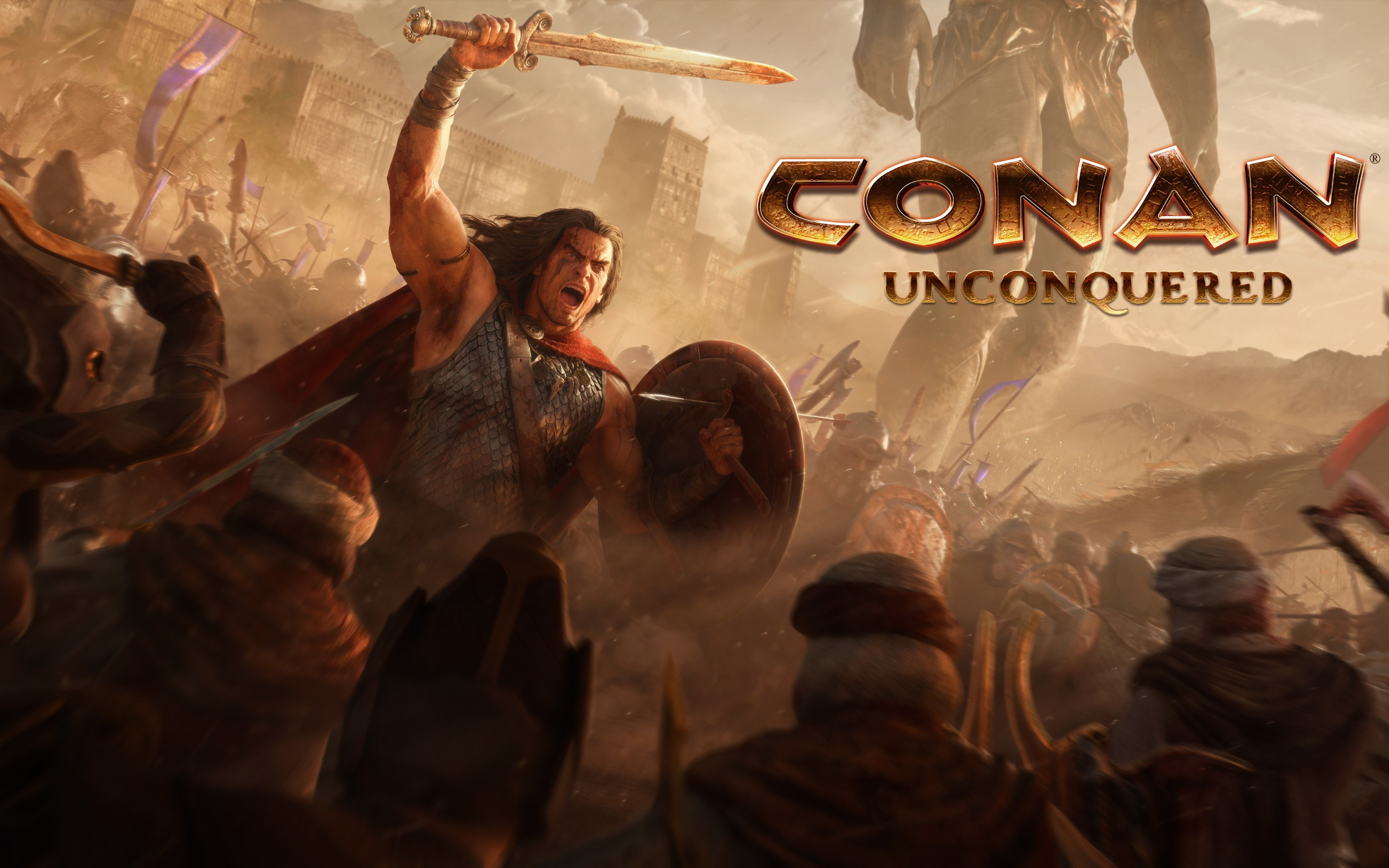 Conan Unconquered wallpaper 3840x2400