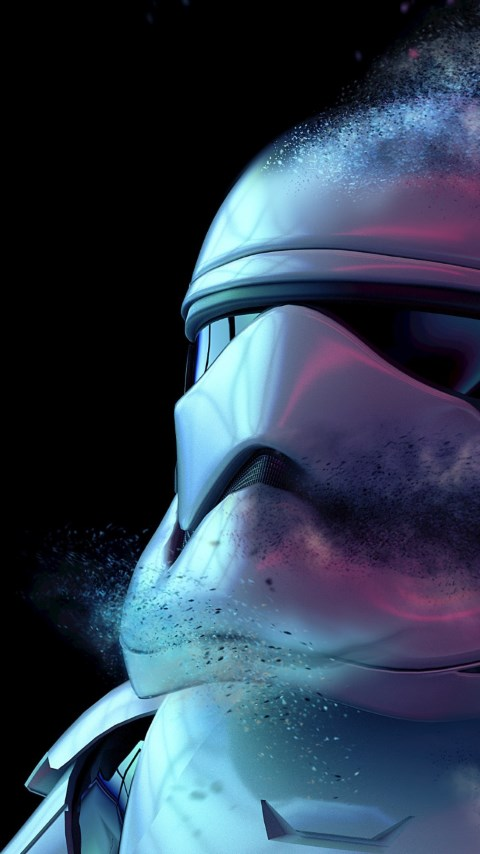 Storm Trooper from Star Wars wallpaper 480x854