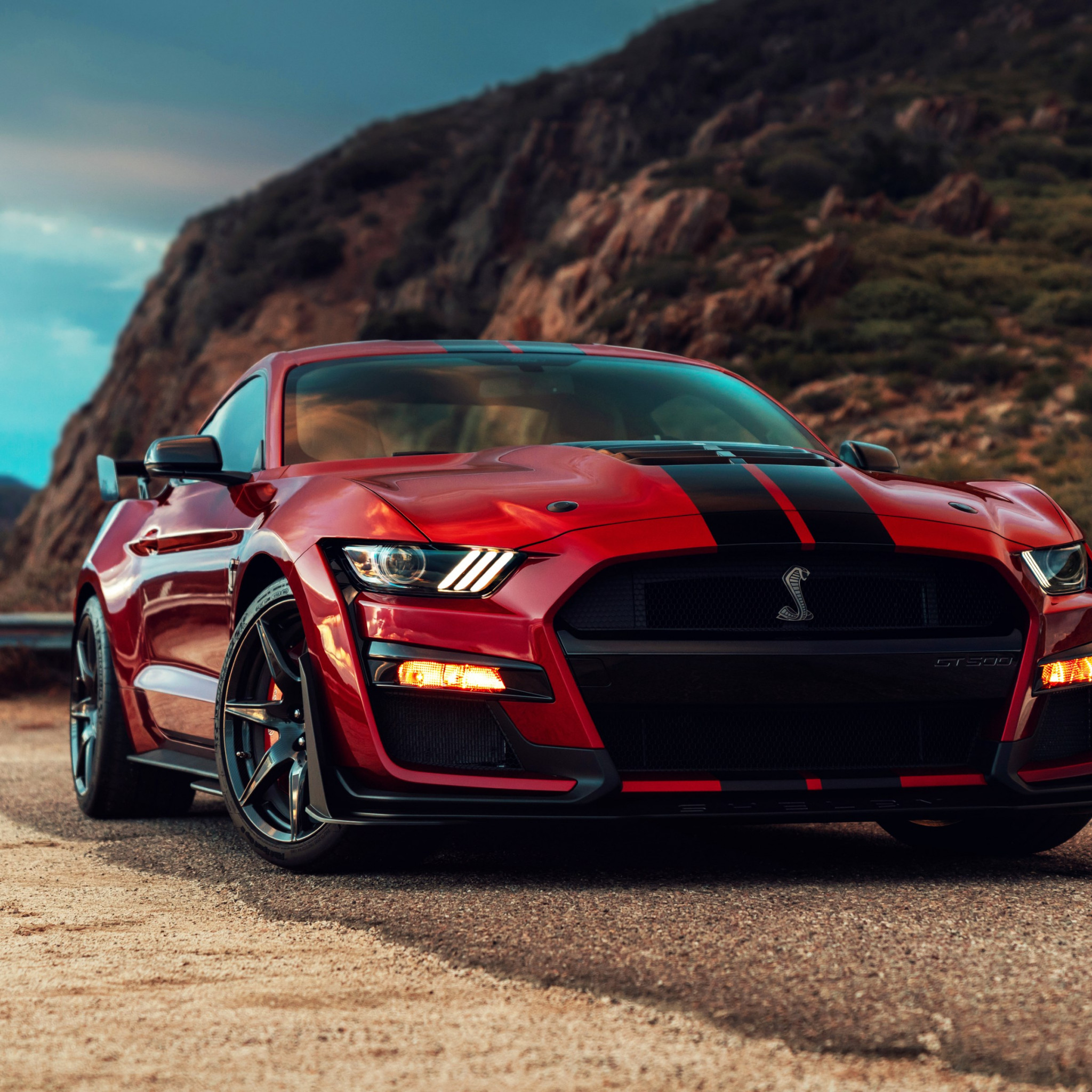 Ford Mustang Shelby GT500 wallpaper 2048x2048