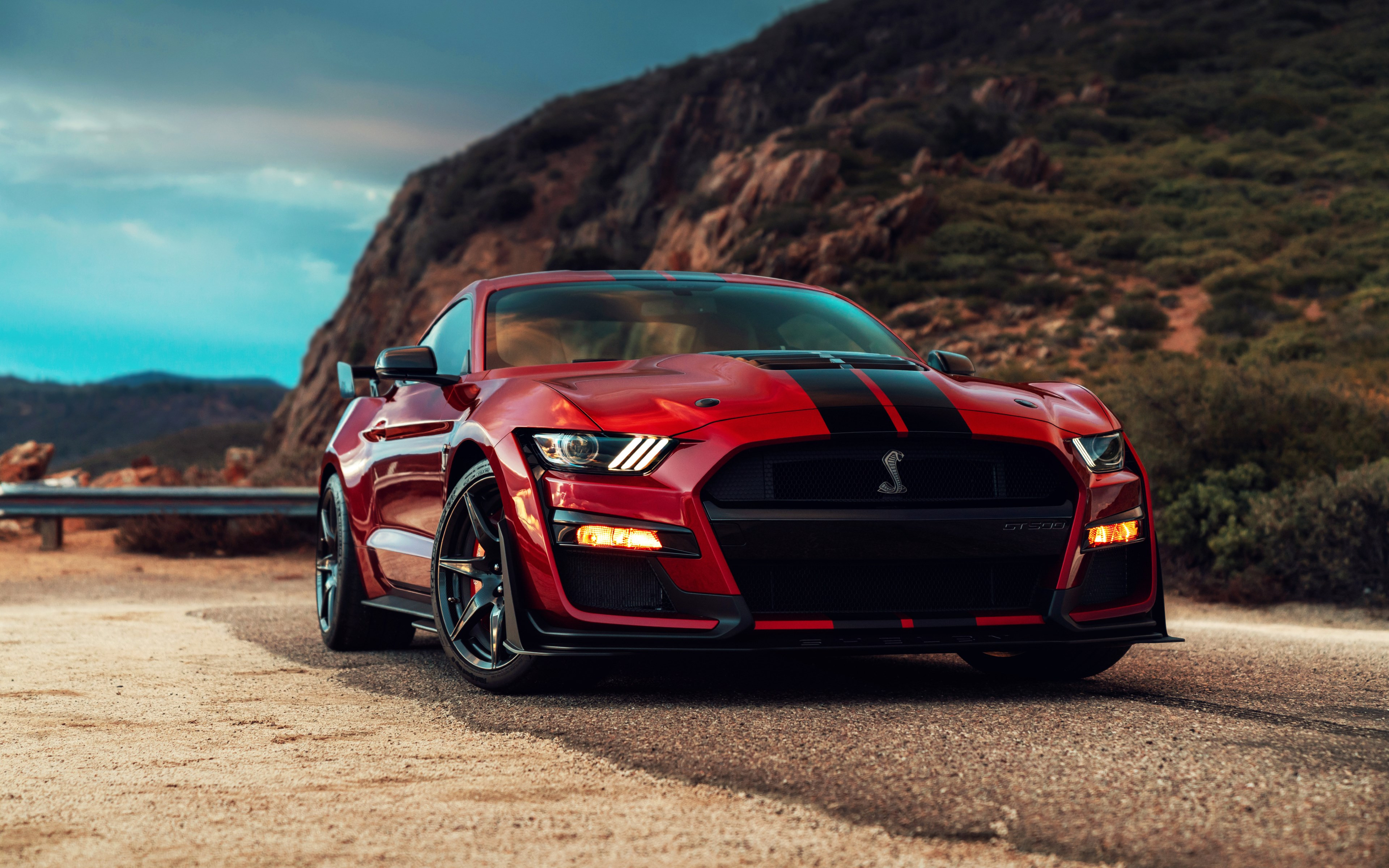 Ford Mustang Shelby GT500 wallpaper 3840x2400
