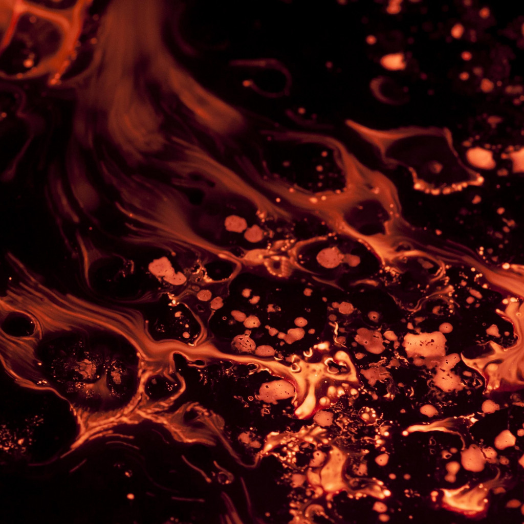 Liquid flame wallpaper 1024x1024