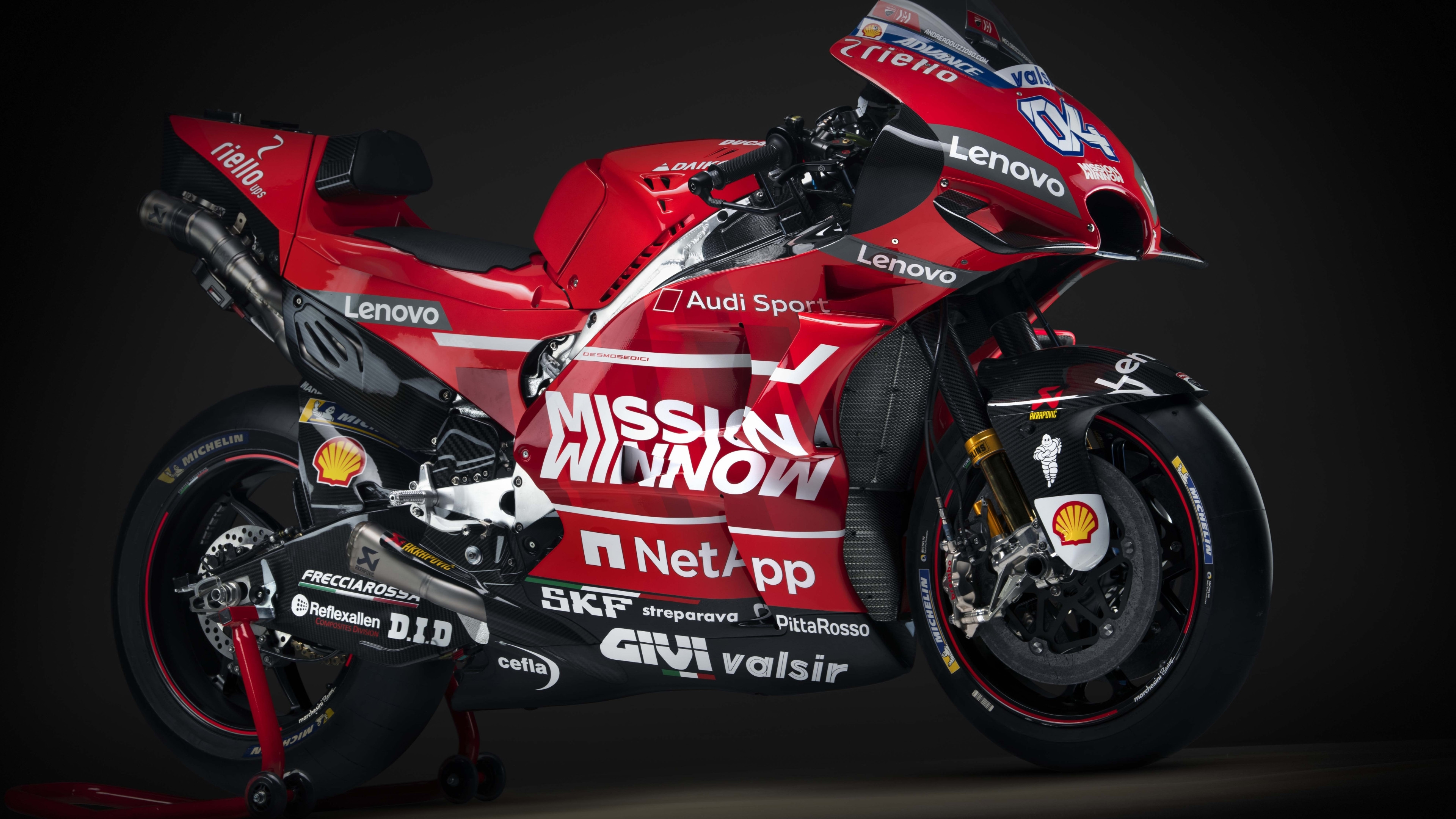 Ducati Desmosedici GP19 wallpaper 3840x2160