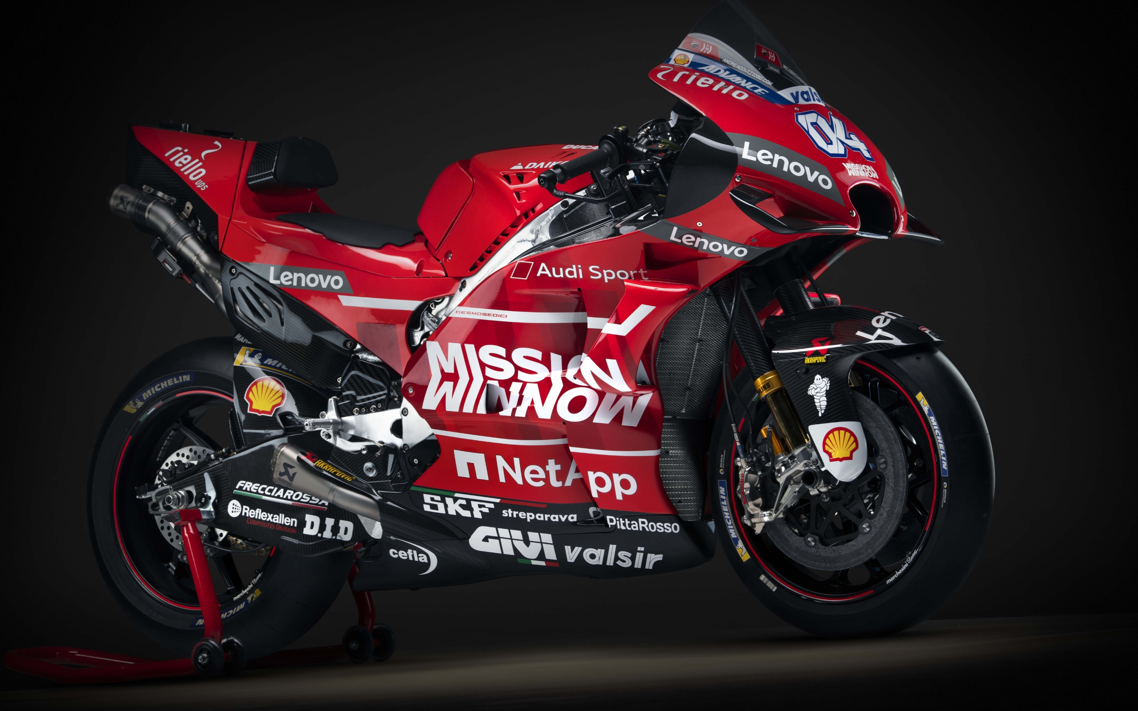 Ducati Desmosedici GP19 wallpaper 3840x2400