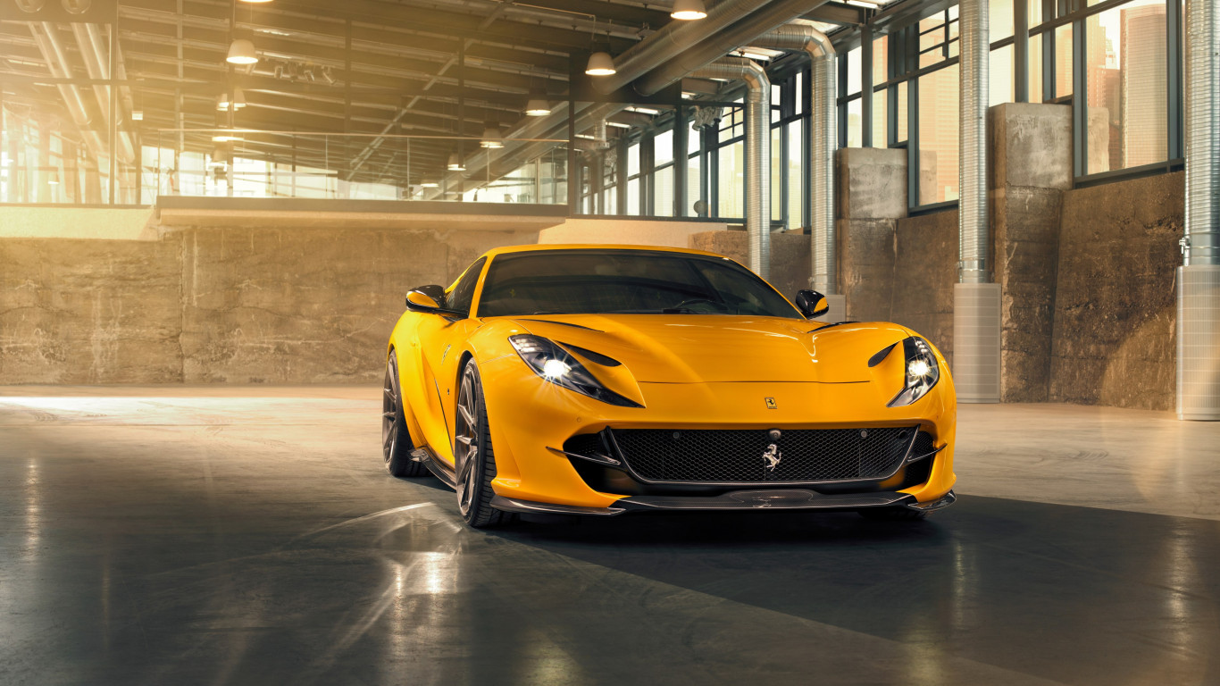 Ferrari 812 Superfast wallpaper 1366x768