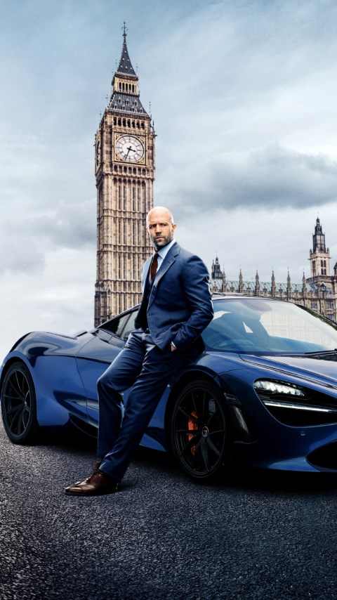 Hobbs and Shaw wallpaper 480x854