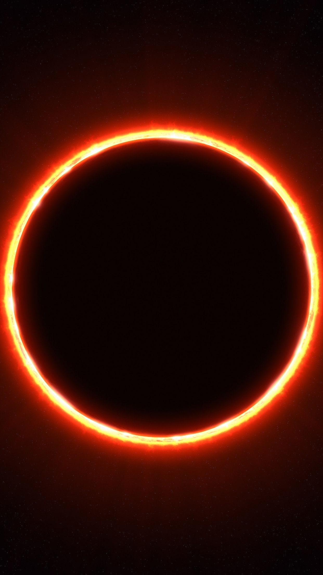 Eclipse wallpaper 1242x2208