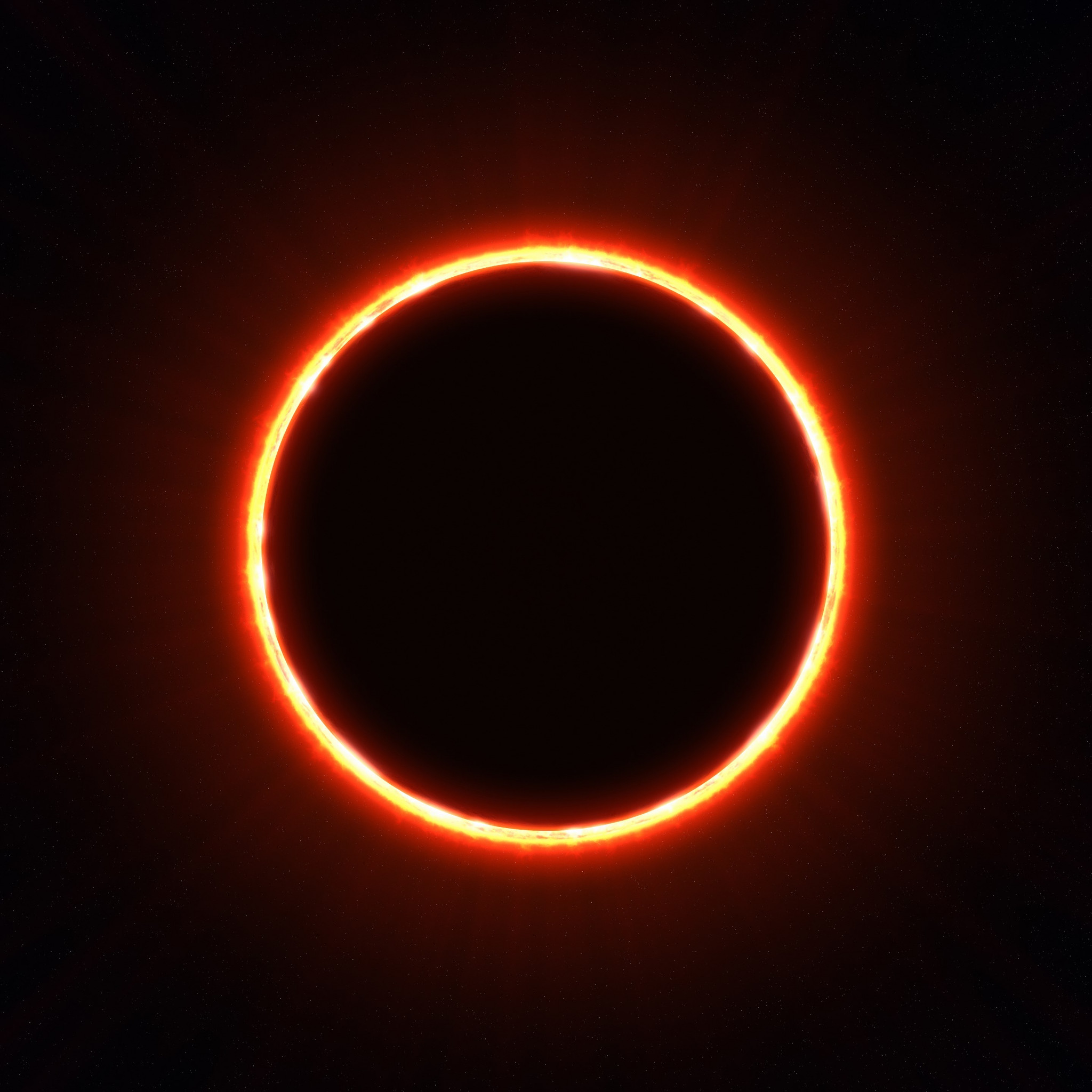 Eclipse wallpaper 2048x2048