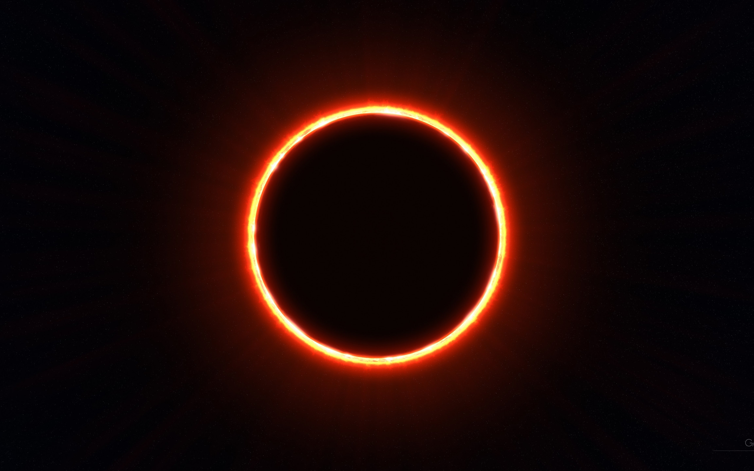 Eclipse wallpaper 2560x1600