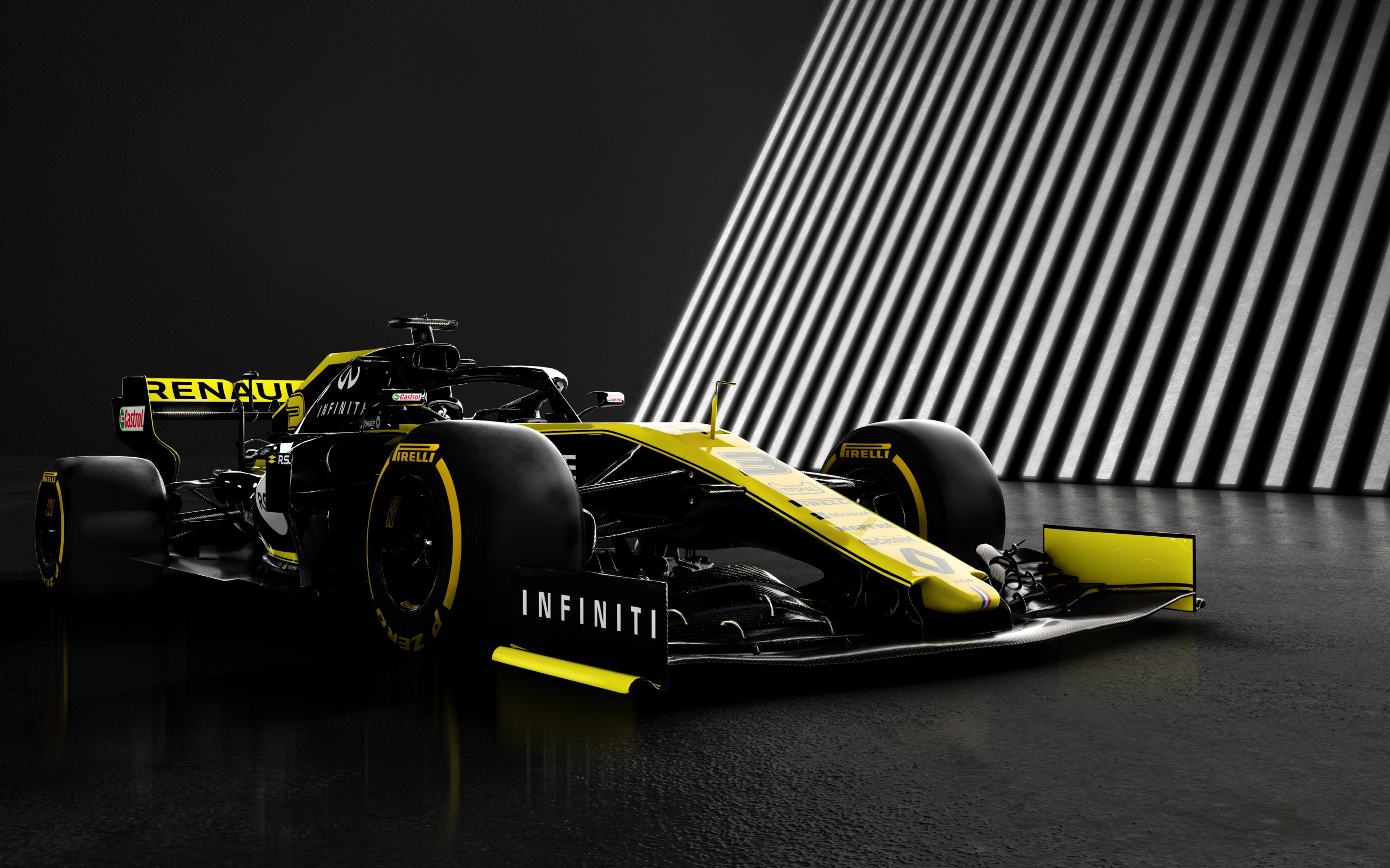 Renault F1 RS19 wallpaper 2880x1800